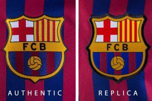تصویر لوگو پیراهن بارسلونا