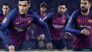 لباس تیم بارسلونا