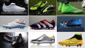 عکس انواع کفش فوتبال چمن