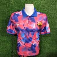 تیشرت یقه دار تیم بارسلونا