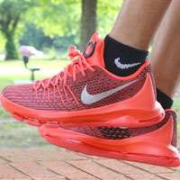 کفش بسکتبالی نایک کی دی8   nike basketball shoes kd 8 v8 bright crimson black 749375-610