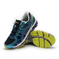 'کتانی رانینگ آسیکس ژل       Asics Gel Kayano 20 Blue Purple Black '