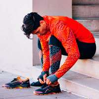 'کتانی رانینگ آسیکس ژل        Asics Gel Kayano Black Orange '