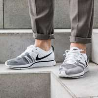 کفش کتانی نایک فلای کینت     Nike Flyknit Trainer White  Black