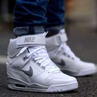 کفش نایک دانک ایر ساق دار classic shoes nike w  dunk air revolution sky-hi 599410 -102