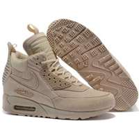 کفش کتانی ساقدار نایک اسنیکربوت nike air max 90 sneaker boot 684714-021