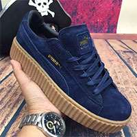پوما ریحانا سورمه ای classic shoes puma x rihanna Dark Blue