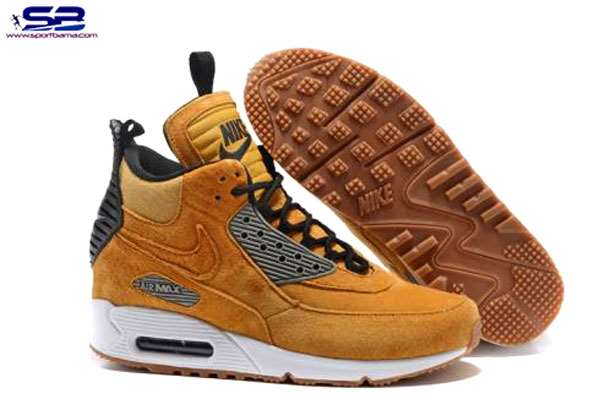 خرید  کفش-اسنیکر بوتکفش کتانی ساقدار نایک اسنیکربوت nike air max 90 sneaker boot 684714-017