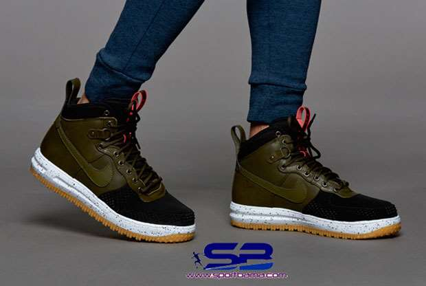خرید  کفش-کفش رانینگکتانی رانینگ نایک لنارفورس  nike lunar force 1 duckboot shoes 805899-001