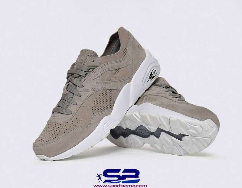 خرید  کفش-کفش رانینگکفش کتانی رانینگ پوما  Running Puma Shoes r698soft grey trinomic 360104-02