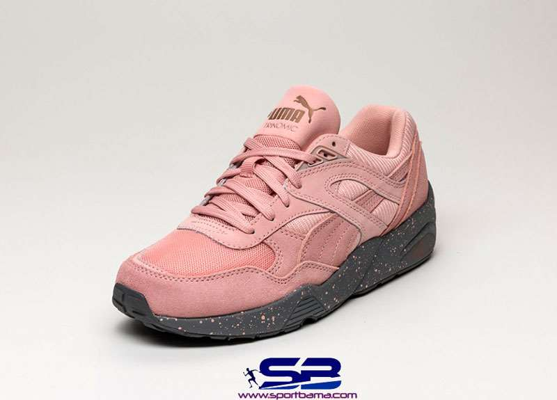 خرید  کفش-کفش رانینگکفش کتانی رانینگ پوما گلبهی  puma trinomic r698 winterized coral cloud pink 359691-01